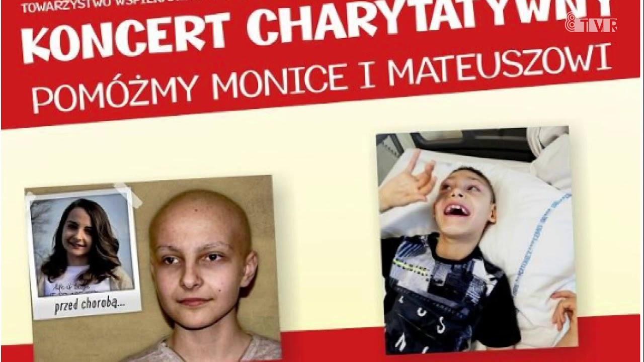 """Koncert Charytatywny """"Pomóż Monice i Mateuszowi"""" – ogłoszenie"""