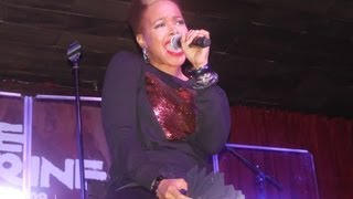"""Chrisette Michele Performs  """"Pray Me Well"""" At The Shrine Chicago"""