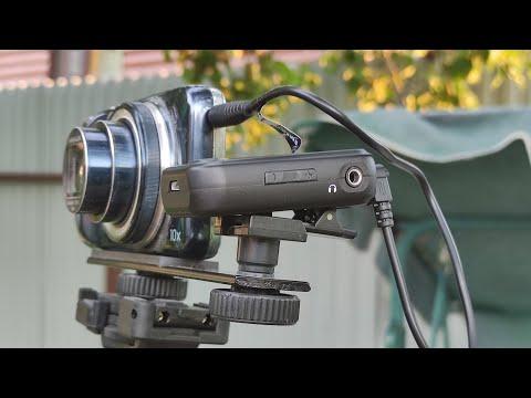 Беспроводная микрофонная система для камеры и телефона Kimafun KM-G10 Wireless microphone system