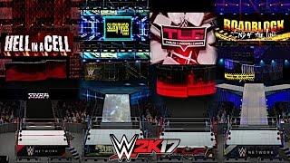 WWE 2K17: New Era PPV Arenas of 2016! (Hell in a Cell, Survivor Series, TLC, Roadblock) (Part 2)