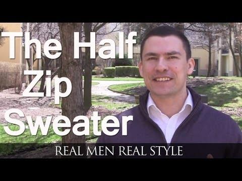 Half Zip Pullover Sweaters For Men | Buy A Man's Pull-Over Sweater | Half-Zip Sweaters Why Purchase