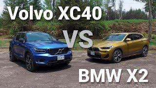 Volvo XC40 VS BMW X2 - Frente a Frente   Autocosmos
