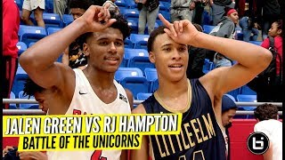 """BATTLE OF THE UNICORNS!"" JALEN GREEN VS RJ HAMPTON!"