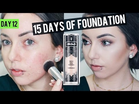 KAT VON D LOCK IT Foundation {Review & Demo} 15 DAYS OF FOUNDATION