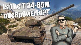WoT || I Tried To Prove That The T-34-85M is OP... || And I Failed Miserably...