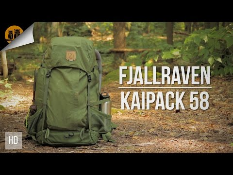Fjallraven Kaipack 58 | Backpacking Backpack | Field Review