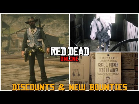 All New Discounts & New Legendary Bounty in Red Dead Online