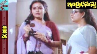 Jeevitha Sister Emotional Scene || Indradhanussu Movie || Rajashekar, Jeevitha || MovieTimeCinema