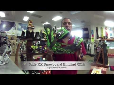 Ride Kx Snowboard Binding 2014 Review