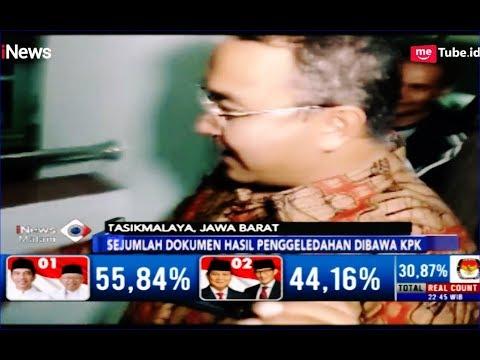 Kantor Digeledah KPK, Walikota Tasikmalaya Dibawa ke Jakarta - iNews Malam 24/04
