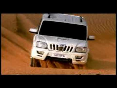 Mahindra Scorpio new commercial