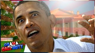"Obama Plays Call of Duty BO2! | 5 ""BARRY Out"""
