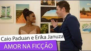 Caio Paduan E Erika Januza: Amor Impossível Na Ficção