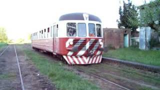 preview picture of video 'Coche Motor Nohab saliendo de Uribelarrea'