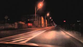 preview picture of video 'Przejazd przez Jasło nocą - Canon EOS 550d video test - FullHD'