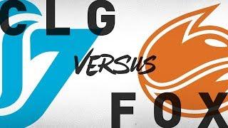 CLG vs. FOX - Week 7 Day 1   NA LCS Summer Split   Counter Logic Gaming vs. Echo Fox (2018)