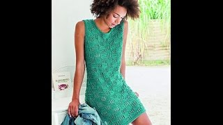 Вязание Спицами - Летние Платья 2017 /Knitting Knitting Patterns Summer Dresses /Sommerkleider