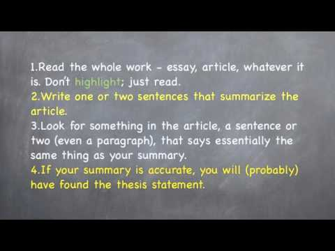 identifying thesis statements   humanities libertexts