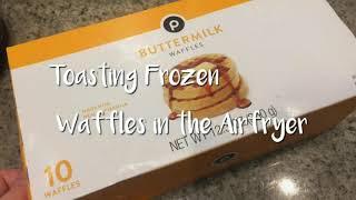 Toasting Up Frozen Waffles