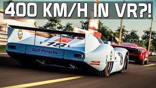 400 km/h in VR?! Porsche 917 Langheck | Project CARS 2 [VR] [GER] Le Mans Historic