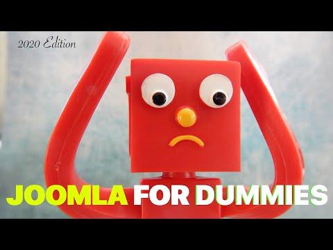 Joomla for Big Dummies Like You - 2021 Edition - YouTube