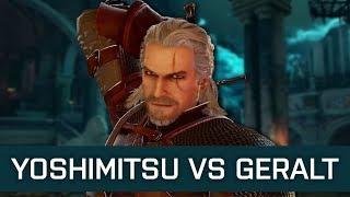 Ketchup (Yoshimitsu) vs HBTW (Geralt) : New Exclusive SCVI Gameplay
