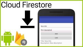 Firestore Tutorial Part 3 - RETRIEVE DATA FROM DOCUMENT - Android Studio Tutorial