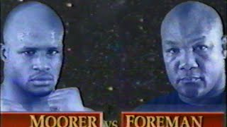 George Foreman vs Michael Moorer Video