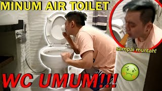 MINUM AIR DARI TOILET SAMPE MUNTAH! *Not Clickbait* Video thumbnail