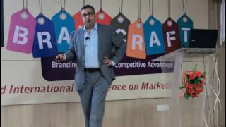 BrandCraft 2016 : Chief Guest Mr. Prateek Srivastava Addressing the Audience