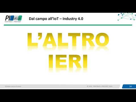 Automazione industriale, Cloud Computing, Internet of things, IOLINK