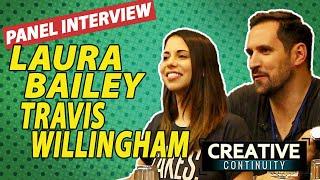Fullmetal Alchemist voice actors: Laura Bailey & Travis Willingham Round Table - Creative Continuity - dooclip.me