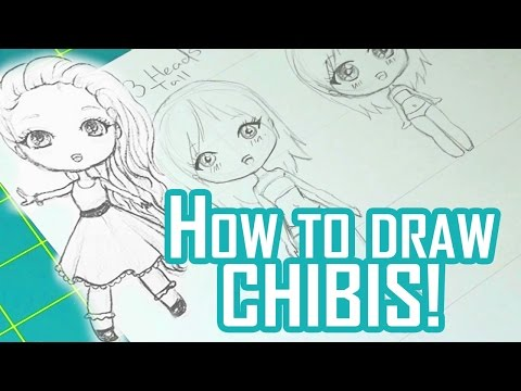 How To Draw Chibis!