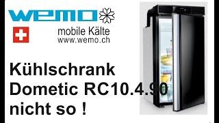 Dometic 10.4.90 im Test kühlt nicht, Stromverbrauch, Laut Kompressorkühlschrank 12 Volt