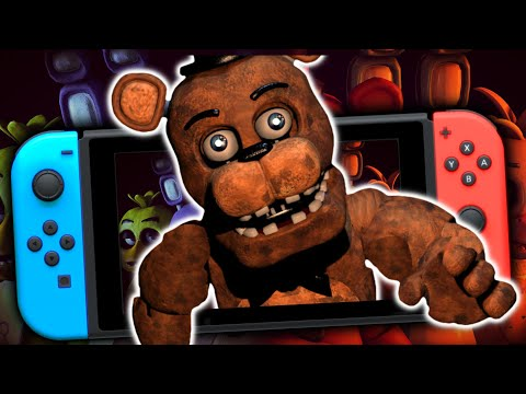 así es FIVE NIGHTS AT FREDDY'S 2 para Nintendo SWITCH 😧 mi primer GAMEPLAY (No debí jugar nunca)