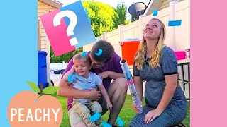 Cutest Surprise Baby Gender Reveal Parties 🎉