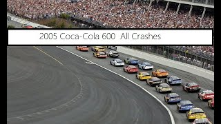 All NASCAR Crashes From The 2005 Coca Cola 600