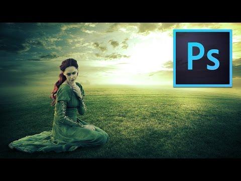 lighting manipulation photoshop tutorial