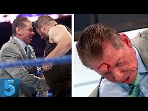 5 WWE Wrestlers Who Assaulted Vince McMahon In The Ring