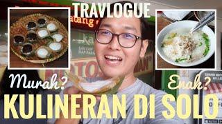 Jelajahi Wisata Kuliner Solo dalam Setengah Hari