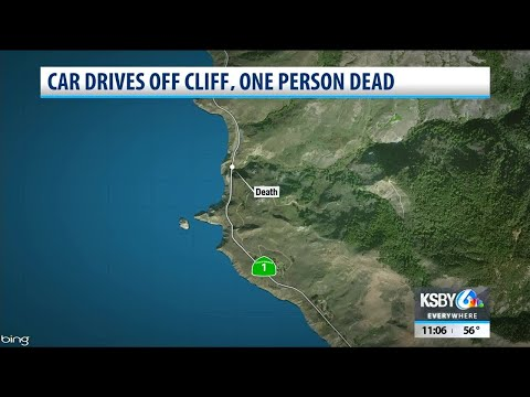 One Person Reported Dead After Car Drives Off Cliff At Big Sur