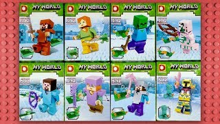 LEGO Minecraft Minifigures (knock-off) DLP049