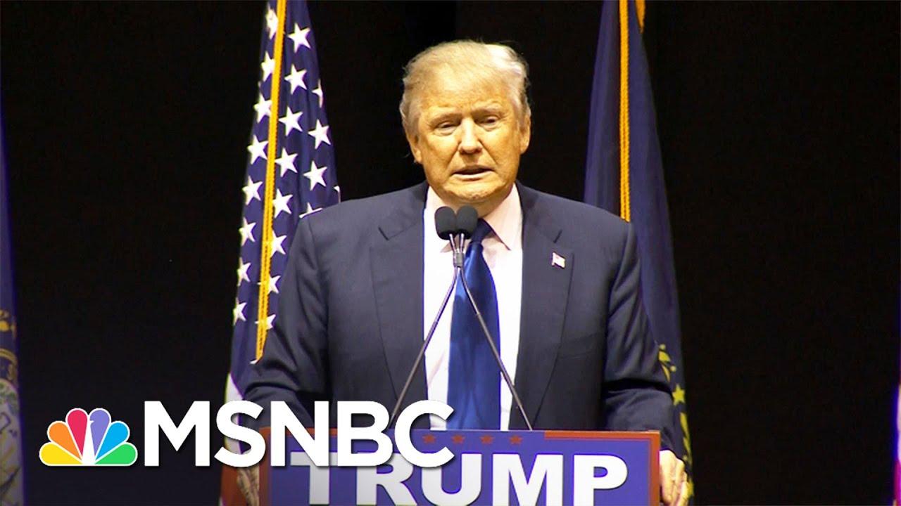 Trump's Health Blowback | MSNBC thumbnail