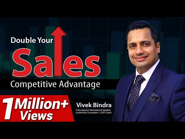Sales Training Videos in Hindi, Competitive Advantage in Business Marketing by Vivek Bindra