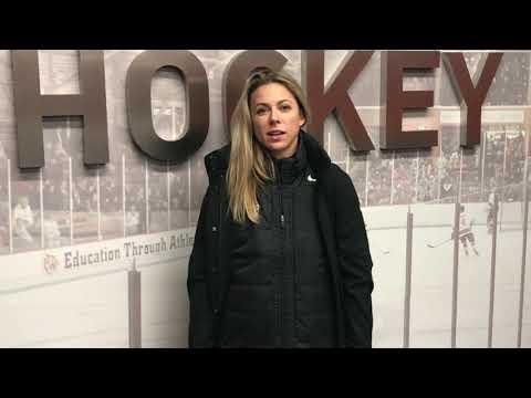 Recap: Women's Hockey vs. Harvard - 11/8/19