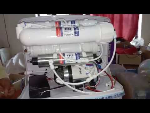 RO, UV, UF, TDS Machine assembling, trouble shooting, parts of RO filter, detail explained, watch