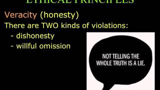 6 the five ethical principles