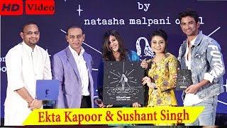 Sushant Singh Rajput & Ekta Kapoor At Book Launch Of Natasha Malpani Oswal 'Boundless. Full Video