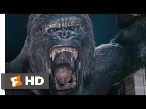 King Kong (6/10) Movie CLIP - Kong's Rampage (2005) HD