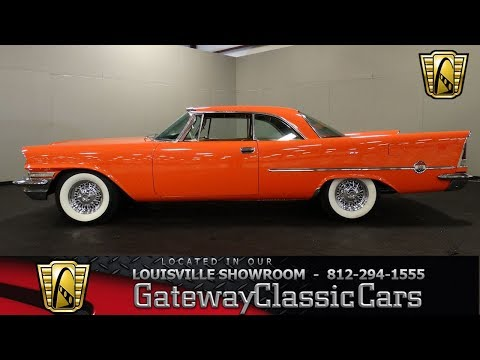 Video of Classic '57 Chrysler 300 located in Memphis Indiana - $44,995.00 Offered by Gateway Classic Cars - Louisville - MACC